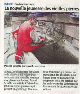 Journal les Dernières Nouvelles d'Alsace