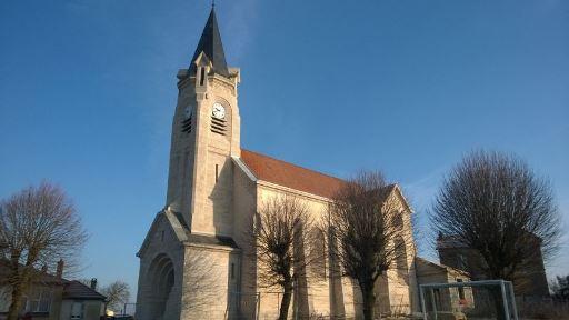 Décapage de la façade de l'Eglise de Saint-Baussant (54)