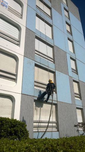 Nettoyage par hydrogommage d'immeubles de Vandoeuvre les Nancy (54)